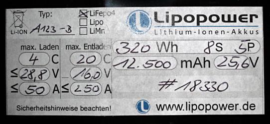 zellenspannung lithium ionen akku